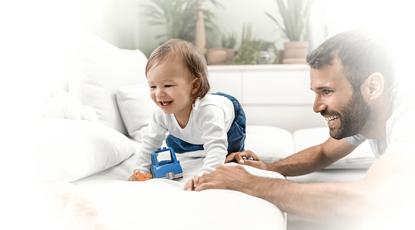 La importancia de jugar con tus hijos