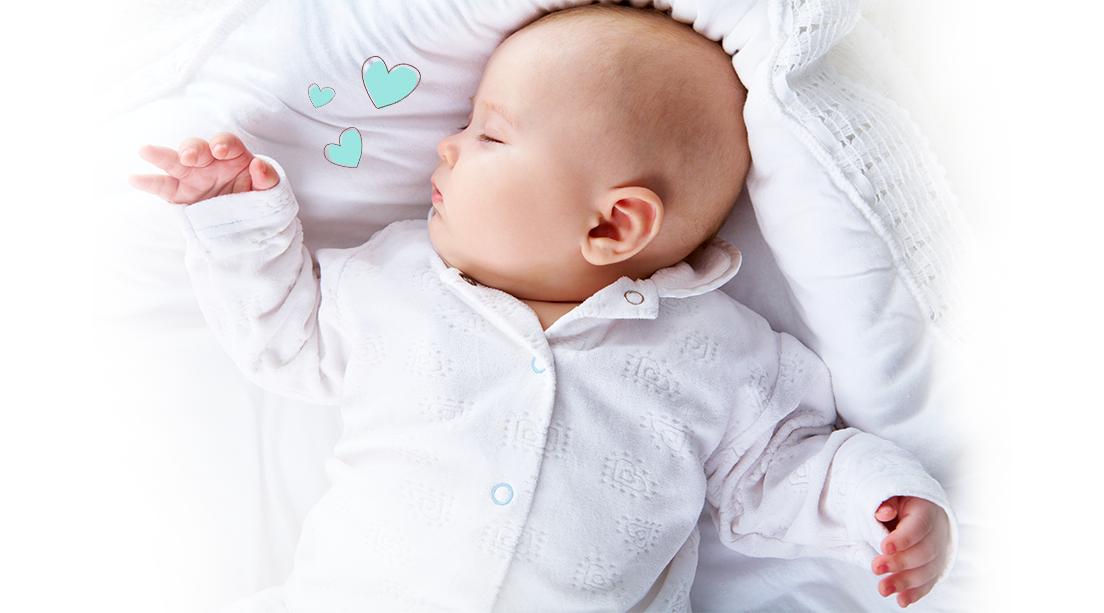 Medidas básicas para que tu bebé duerma seguro